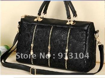 Free shipping Korean Women Lace Sexy Clutch Shoulder Purse Handbag Tote Bags Boston free shipping wholesale 0709