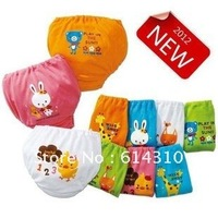 Free shipping 6pcs/lot wholesale baby underwear,cartoon baby underwear