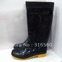 Best selling! New style classical rubber boots rain boots tall canister  Free Shipping 1pair