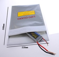 Wholesale 10pcs/lot LiPo RC Battery Safe Guard bag pouch Charging Sack save pack 230mm*300mm