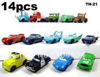 14Pcs./set PIXAR CARS 2 Complete Series Figures Toys