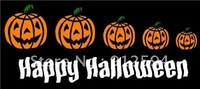 Pumpkin  Family  Figures  Decal Stickers/ Car Window Stickers