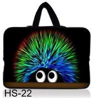 "NEW cute Hedgehog  Neoprene 13"" 13.3 INCH Sofe LAPTOP hidden HANDLE SLEEVE BAG notebook CASE cover POUCH"