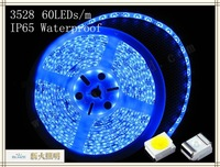 DC 12V SMD3528 300 5m rgb led strip smd 60led/m 24W 5M  waterproof  IP65
