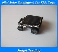 Mini Solar Energy Intelligent Car Kids Toys Free Shipping 8606