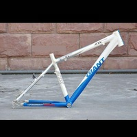 free shipping 09 GIANT ATX PRO Mountain bicycle frame,blue,15.5,17,19 inches