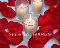 2800 Pcs/lot  Red Ect 15colors Rose  Petals Wedding Party Decoration 5.5*4.5cm Non-woven Fabrics  Free Shippin