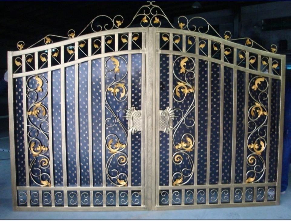 Porte double battant pvc fence