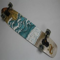 "Free shipping 42"" Seort 9 kick tail complete longboard Professional original longboard"