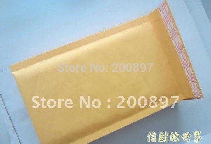 "Promotion wholesale Kraft Bubble Mailers Padded bubble paper envelope Bags 8""X11"" 50 Pcs a lot(China (Mainland))"