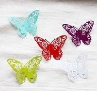 Baking varnish metal butterfly magnets/fantastic creative toys/caton refrigerator sticker