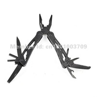 Ganzo G2015PB,22in1 function,Black Pro-grade Multi Pliers Tool,multi-function tools with Black pouch