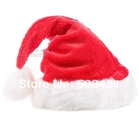 free shipping Christmas hat 2012 long villus high qaulity thick warm gift for family Christmas Decoration