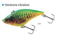 lot of 3 pcs hardcore vib 75,weight 14gm,length:7.5cm vibration fishing lure