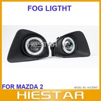 Fog lamp light full set replacment for Mazda2 Mazda 2 with projector CCFL