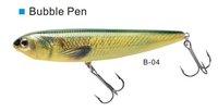 lot of 3 pcs bubble pencil 80,weight 8gm,length:8cm pencil fishing lure