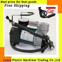 Free Shipping DC 12V electrical fast inflator pump, portable air compressor  &Pump , The high pressure car tire impact pump