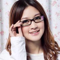 2012 full frame sheet glasses myopia Women eyeglasses frame glasses 1003