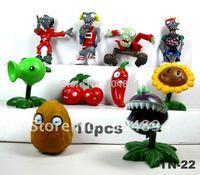 10 PCS./set Video Game Plants Vs Zombies Limited Edition Toys Figures