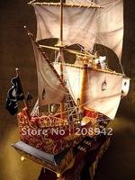Best selling!! 3D model Black Pearl Pirates of the Caribbean ship toy model set educational blocks Free shipping 1 pcs