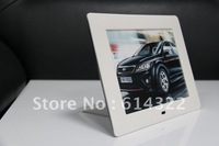 Hot sale 8inch digital photo frame with  card reader /800*600