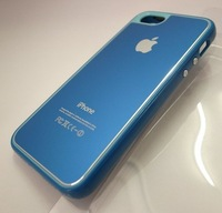 New Arrival! Blue PP Hard Back Protective Case Cover Skin for Apple iPhone 5