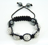 Fashion Jewelry Kids Child Baby Children Shamballa Bracelet, New Tresor Paris, CZ Disco Ball Bead M46