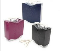 Novelty hercules style auto toothpick box with toothpick (FN)