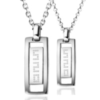 Jpf 520 lifetime lovers necklace 925 silver necklace