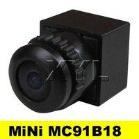 NEW 120deg view angle 1/4 cmos 480TVL MiNi Color camera 3.6-24v wide voltage MC91B18 Free Shipping