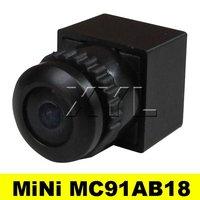 NEW 120deg view angle 1/4 cmos 480TVL MiNi Color camera 3.6-24v wide voltage MC91AB18 Free Shipping