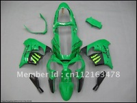 for kawasaki zx9r fairing 2002 2003 abs fairing kits motocycle fairing  green zx9r 02