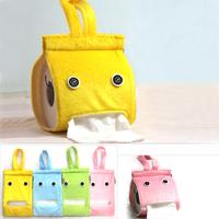 3 pcs/pack Cute Cloth Towels Pumping Non-Woven Fabric Tissue Storage Box (KA-30)