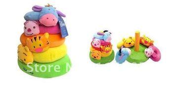 Free Shipping New Design Baby Cute Animal-shaped Plush Stuffed Toy