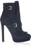 2012 sheep velvet high-heeled female boots high-heeled shoes platform boots medium-leg boots