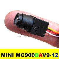 Mini CCTV Camera 520TVL High resolution Color 90degree view angle 0.008Lux MC900DAV9-12 Free Shipping