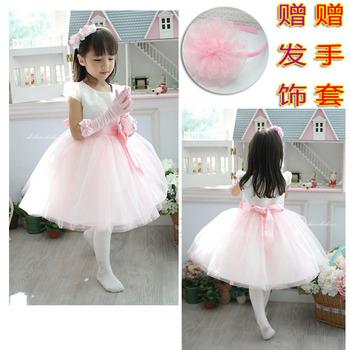 2013 new arrival! Children's clothing children wedding dresses girl holiday dress