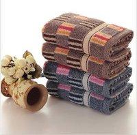 Free shipping ! wholesale 33*75cm Multi-Color 5pcs/lot 100% cotton soft face towel /face cloths/washer towel/hand towel