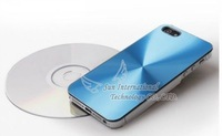 Free shipping Wholesale Hard Plastic Brush Hair-brushed CD Grain Case Cover Skin For iPhone5 5G Direct from Factory