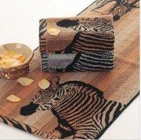 Free shipping ! wholesale 34*76cm 5pcs/lot 100% cotton men's soft face towel /face cloths/washer towel/hand towel