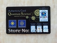 Free shipping!&new model!~Energy quantum scalar energy card &Resist radiation&black
