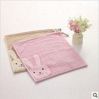 Free shipping!wholesale 34*76cm 105g 5pcs/lot 100% cotton cute cartoon soft face towel /face cloths/washer towel/hand towel