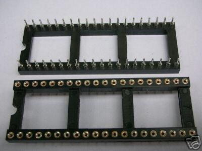 120 40 PIN GOLD DIP IC SOCKET PANEL ADAPTER SWAP G40S(China (Mainland))