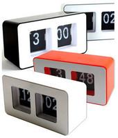 Brief brief fashion clock auto flip clock zone alarm clock function