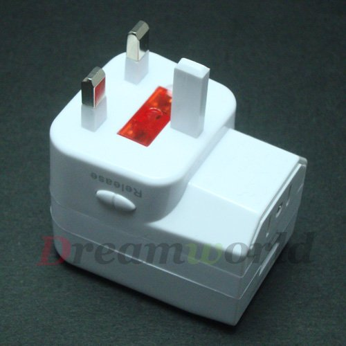 World Wide Compatibile Universal All in One World Travel Adapter with USB Port / USB Universal Charger FS by DHL-100pcs(China (Mainland))