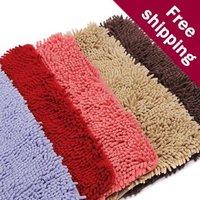 FREE SHIPPING!Fiber Chenille thick livingroom hallway door mat 40*60cm