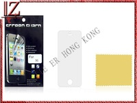 Transparent screen protection film for iphne 5 New and original with packaging MOQ 1000pic//lot shipping UPS EMS DHL FEDEX TNT
