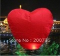 30pcs/lot heart Sky Lantern, Wishing Lamp CHINESE LANTERNS BIRTHDAY WEDDING PARTY(China (Mainland))
