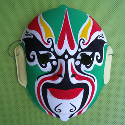 Beijing opera mask gift mask home decoration child mask For Festival Christmas Halloween Costume Party Fancy Ball(China (Mainland))