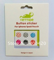 Key stick for apple iPhone 5/wave point key stick for iphone 4s/HOME key stick for ipad3/HOME key stick for the New iPad